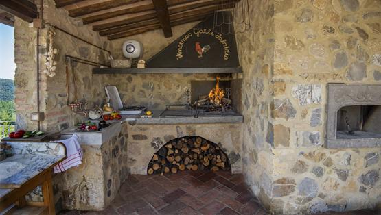 Casale galli outdoor kitchen - Cucine all aperto ...